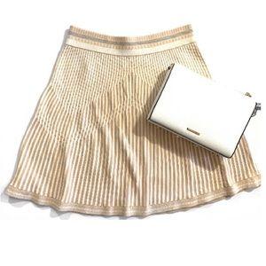 BCBGMaxazria Alisse Striped Skirt